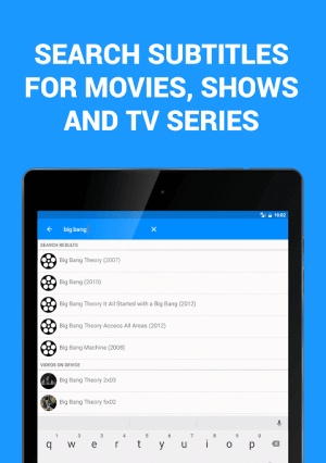 Subtitles for Movies & TV Series 1.3.1 Screen 7