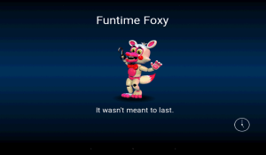 FNaF World 1.0 Screen 3