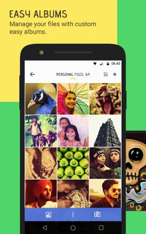 Android Skullock Photo vault: Lock private photos & videos Screen 9