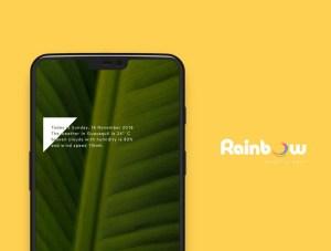 Rainbow Kwgt 3.2 Screen 6