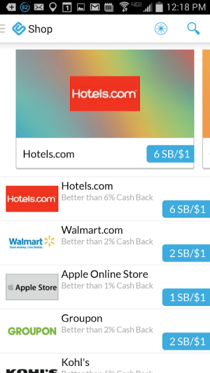 Swagbucks 3.6 Screen 3