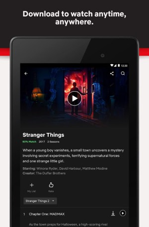 Netflix 6.25.0 build 5 31659 Screen 8