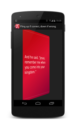 Bible Memory: Remember Me 5.2.6 Screen 3