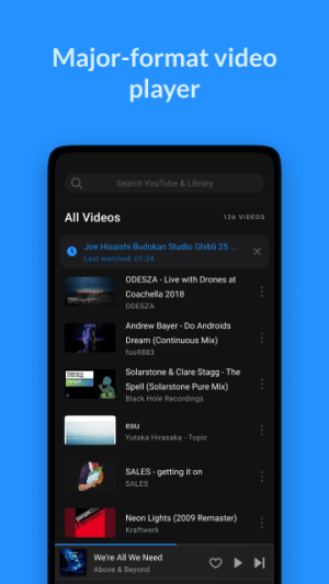 Android Lark Player - Free MP3 Music & Youtube Player Screen 3