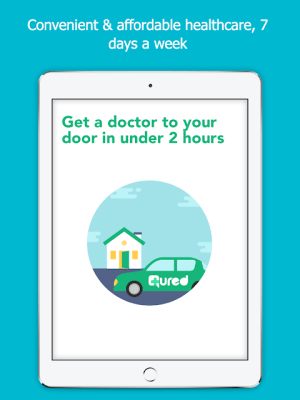 Qured: A Doctor or Physio To Your Door 2.2.45 Screen 5