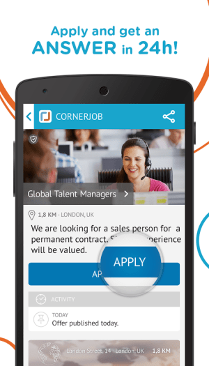 CornerJob - Get a Job in 24H 1.3.9 Screen 6