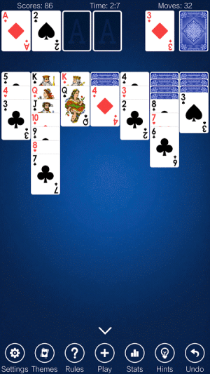 Solitaire 2.8 Screen 4
