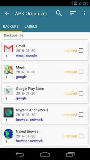AppWererabbit 7.2.4 Screen 2
