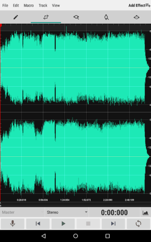 WaveEditor for Android™ Audio Recorder & Editor 1.82 Screen 7