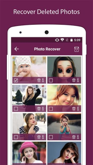 Recover Deleted All Photos, Files And Contacts 3.3 Screen 1