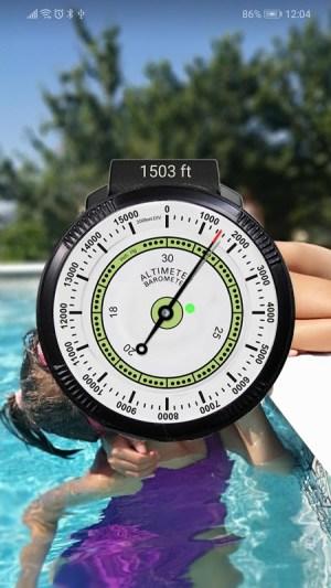 Altimeter free 4.50 Screen 6
