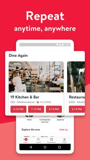 OpenTable - Book Restaurants 13.10.0.3059 Screen 2