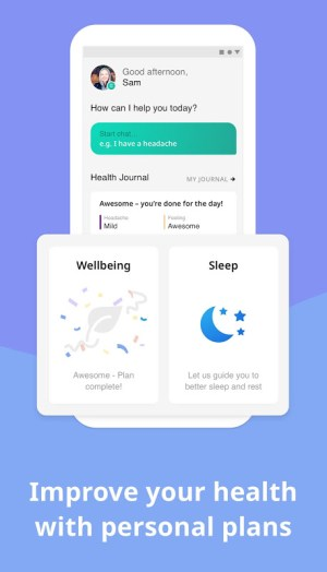 Your.MD: Health Journal & AI Self-Care Assistant 4.0.0 Screen 1