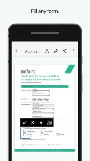 Android Adobe Fill & Sign: Easy PDF Form Filler Screen 3