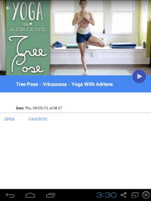 Android Foundations of Yoga Screen 3