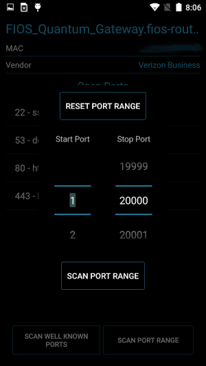 Port Authority - LAN Host Discovery & Port Scanner 2.2.8-free Screen 3