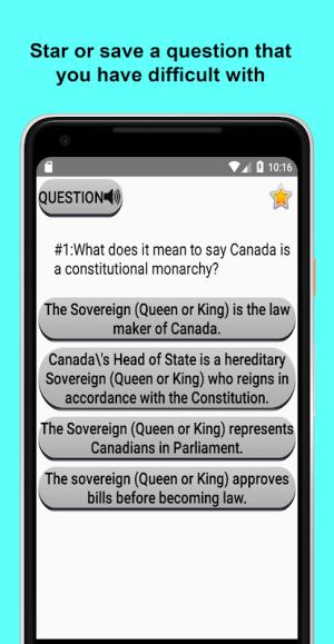 Canadian Citizenship Test 2017 2.02 Screen 2