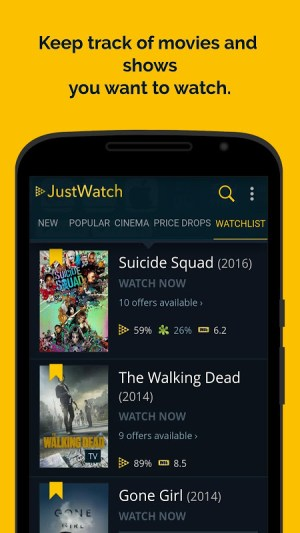 JustWatch - Search Engine for Streaming and Cinema 2.5.13 Screen 5