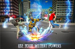 Superhero Panther Flying City Survival 1.0 Screen 2
