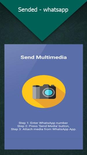 Sended - Whatsapp Send MSG 1.0.1 Screen 2