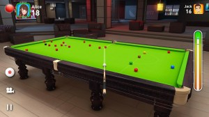 Android Real Snooker 3D Screen 3