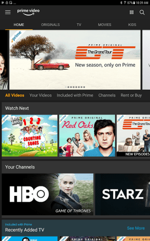 Amazon Prime Video 3.0.256.72742 Screen 3