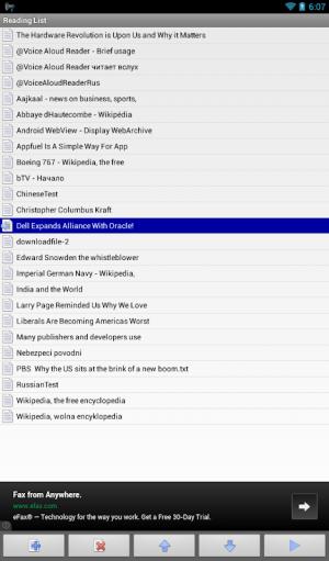 @Voice Aloud Reader (TTS Reader) 20.2.16 Screen 13
