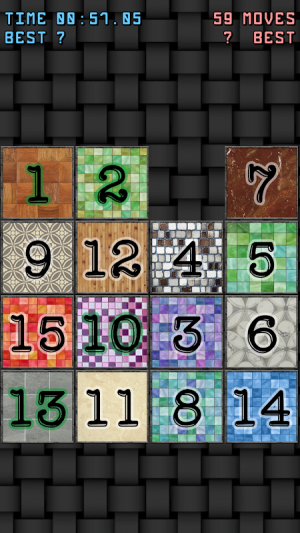 15-puzzle (Sliding puzzle) 1.0 Screen 4