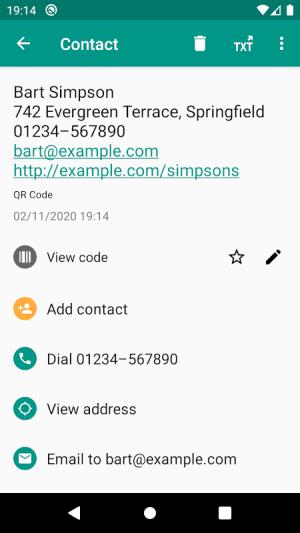 QR & Barcode Reader 2.6.9-L Screen 4