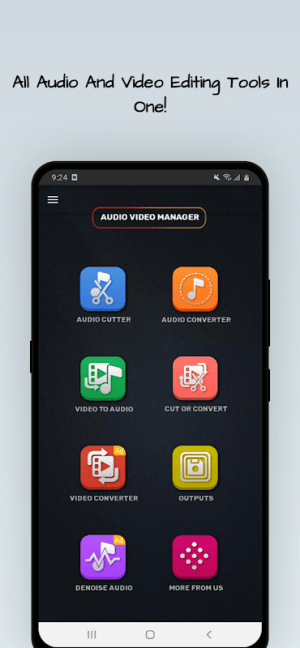 MP4, MP3 Video Audio Cutter, Trimmer & Converter 0.4.1 Screen 6