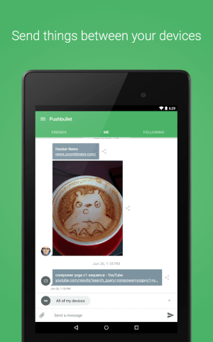 Pushbullet - SMS on PC and more 18.2.31 Screen 7