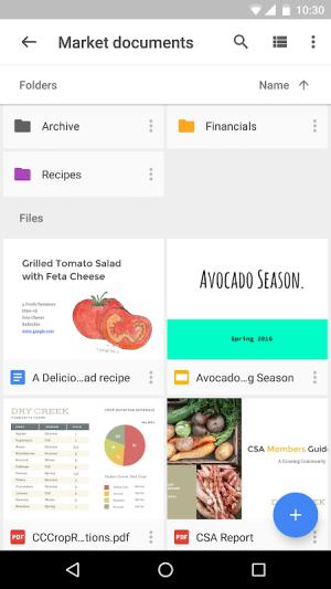 Google Drive 2.19.132.06.45 Screen 2