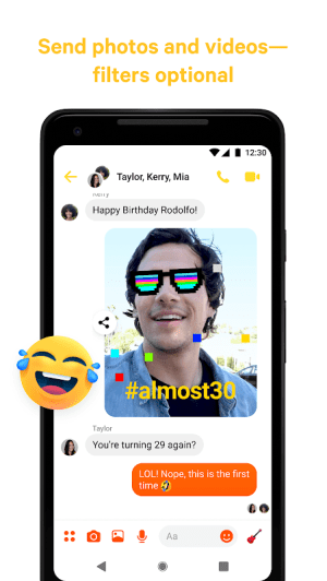 Messenger – Text and Video Chat for Free 252.0.0.10.119 Screen 2
