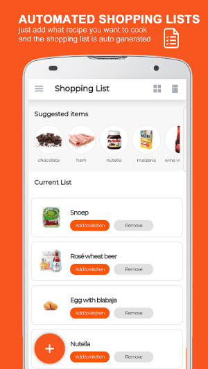 KitchenPal: For Smarter Cooking & Grocery Shopping 4.4.2 Screen 5