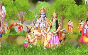 4D Shri Rama (श्री राम दरबार) Live Wallpaper 9.0 Screen 12