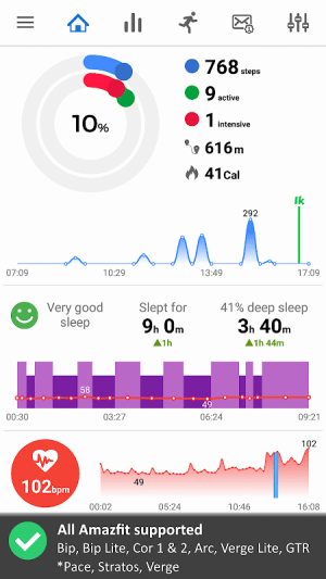Notify & Fitness for Amazfit 8.17.6c Screen 7