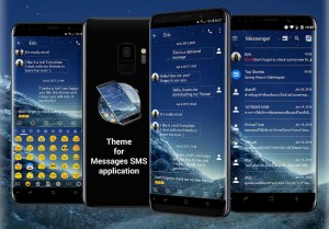 SMS Messages Theme for Galaxy S9 1.0 Screen 6