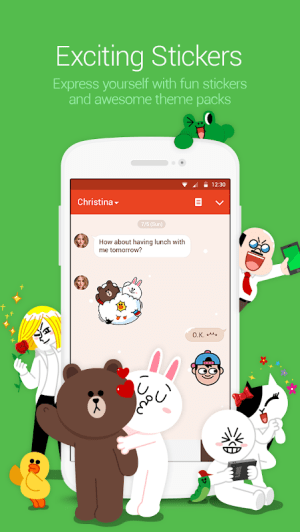 LINE: Free Calls & Messages 9.10.0 Screen 2