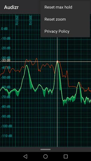 Audizr - Spectrum Analyzer 0.9.8 Screen 10
