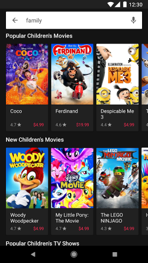 Google Play Movies & TV 4.12.8-tv Screen 2