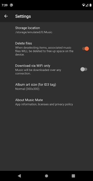 Music Mate 2.1.47 Screen 19