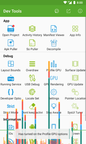 Dev Tools(Android Developer Tools) 3.1.2 Screen 6