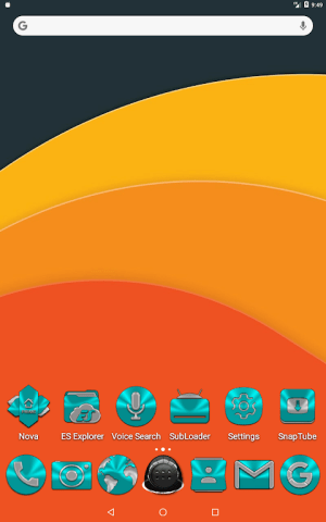 Cyan Icon Pack ✨Free✨ 3.8 Screen 16