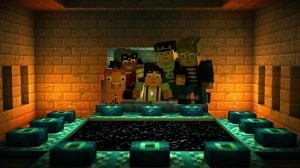 Android Minecraft: Story Mode Screen 2