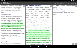 Android Bible Study app, by And Bible Open Source Project Screen 10
