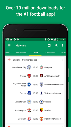 FotMob Pro - Live Football Scores 109.0.7275.20191107 Screen 3