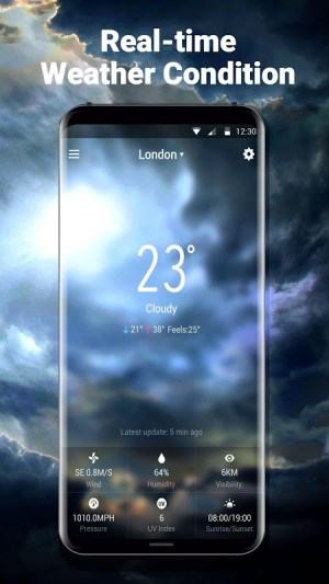 Local Weather Report Widget 9.0.6.1460 Screen 1