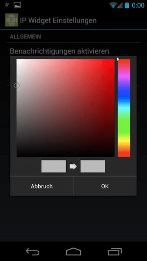IP Widget 1.43.0 Screen 6