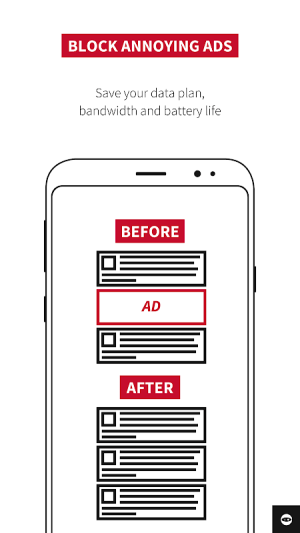 Adblock Plus for Samsung Internet - Browse safe. 1.2.1 Screen 3