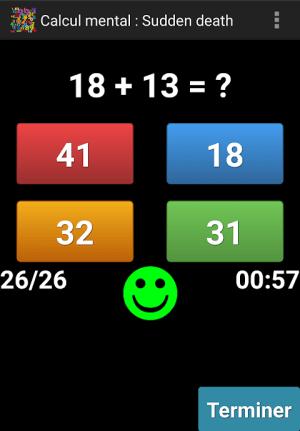 Mental Arithmetic 9.1 Screen 2